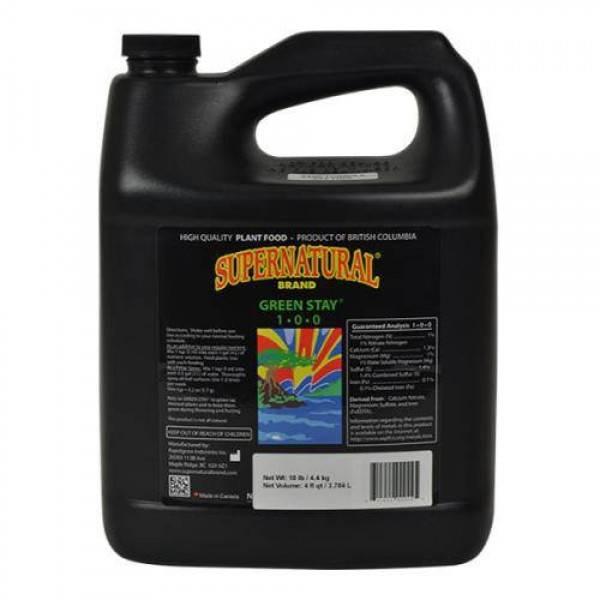 Supernatural Green Stay 4 Liter (4/Cs)