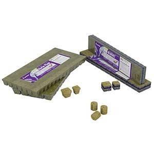 "Grodan A-OK 25/40 10/10 Cubes, 1"" x 1"", 30 sheets of 200"