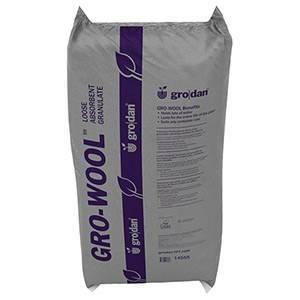 Grodan Gro-Wool Medium Water Absorbent Granulate, 3.5 cu ft