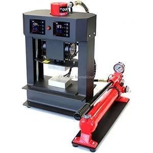"Across Int'l 4x3"" 20T Hydraulic Heat Press with Dual Heating Platens -220V"