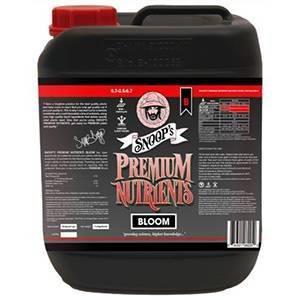 Snoop's Premium Nutrients Bloom B Non-Circulating 10 Liter (Soil and Hydro Run To Waste) (2/Cs)
