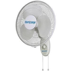 Hurricane Supreme Oscillating Wall Mount Fan 16 in (48/Plt)