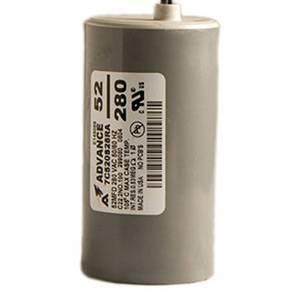 Capacitor, Sodium, 1000W/Dry 52 MFD/280 VAC MIN